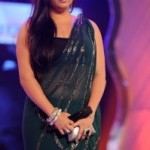 Namitha Hot Navel Photos in Transparent Saree