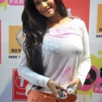 Poonam Pandey Hot Photos At Zoom Holi Party 2014