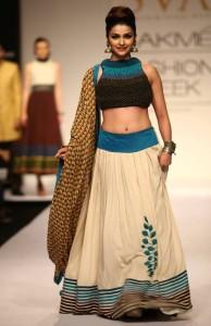 Prachi Desai Hot Ramp Walk Pictures At Lakme Fashion Week
