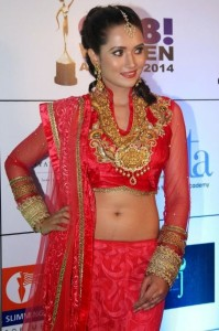 Preethi Rana Sexy Navel Images At GR8! Women Awards 2014