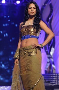 Rachana Maurya Hot Navel Show Photos At CineMAA Awards