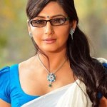 Ragini Dwivedi Hot Half Saree Images