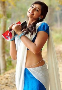 Ragini Dwivedi Half Saree Stills
