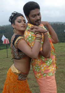 Ragini Dwivedi Hot Navel Photos in Villan Movie