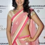 Samantha Hot Photos in Transparent Half Saree