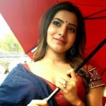 Samantha Latest Cute Photos At Shooting Spot