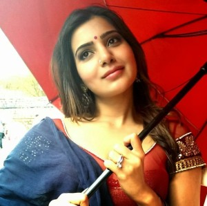 Samantha New Cute Photos At Shooting Location