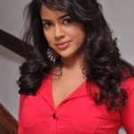 Sameera Reddy Sexy Pictures in Red Dress