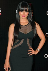 Actress Sana Khan Latest Hot Pics At Colors Channel Party