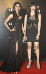 Sana Khan At Colors Channel Party Photo Gallery