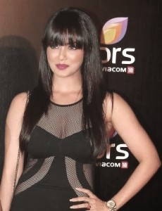 Sana Khan At Colors Channel Party Hot Stills