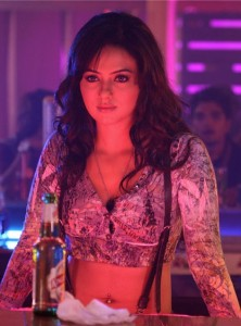Sana Khan Hot Navel Photos in Mr. Nookayya Movie