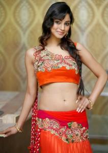 Shilpi Sharma Navel Photos At Trisha Pre Launch Fashion Show