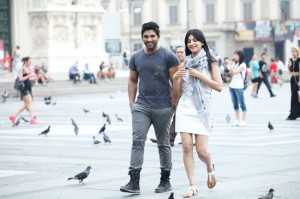 Shruti Haasan New Stills From Race Gurram Movie