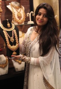 Actress Sneha Pics At Malabar Gold Artistry Collection Launch in Chennai