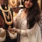 Sneha At Malabar Gold Artistry Collection Launch Photos
