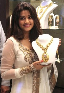 Sneha At Malabar Gold Artistry Collection Launch Stills