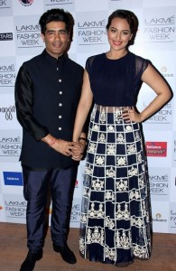 Sonakshi Sinha At Lakme Fashion Week Summer Resort 2014 Images