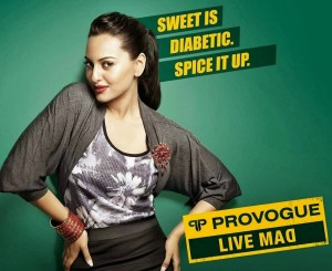 Sonakshi Sinha Sexy Stills For Provogue Ad
