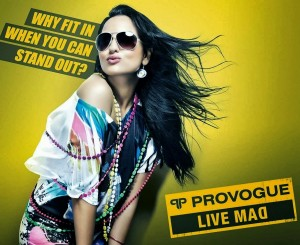 Sonakshi Sinha Provogue Ad Photoshoot Images