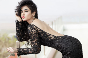 Sonal Chauhan Latest Hot Photoshoot Photos in Black Dress
