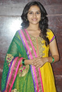 Sri Divya Photos At Varutha Padatha Valibar Sangam Movie Press Meet