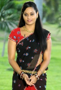 Actress Suja Varunee Hot Navel Photos in Half Saree