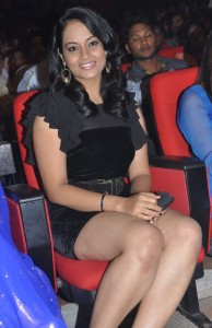 Suja Varunee Thighs Show Photos At Nagavalli Movie Audio Launch 9