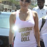 Sunny Leone At Ragini MMS 2 Movie Promotion Photos