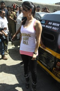 Sunny Leone At Ragini MMS 2 Movie Promotion Photos 6