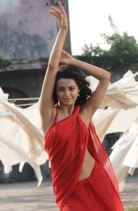 Surveen Chawla Navel Show Photos in Itlu Prematho Movie