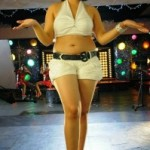 Swetha Basu Prasad Hot Navel and Thighs Show Photos
