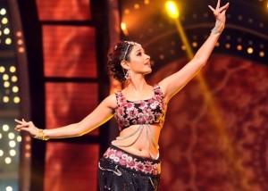 Tamanna Navel Photos At Dance Performance Show