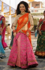 Tamanna Latest Hot Half Saree Stills