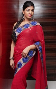 Tamil Actress Dhansika Sexy Saree Photos 2