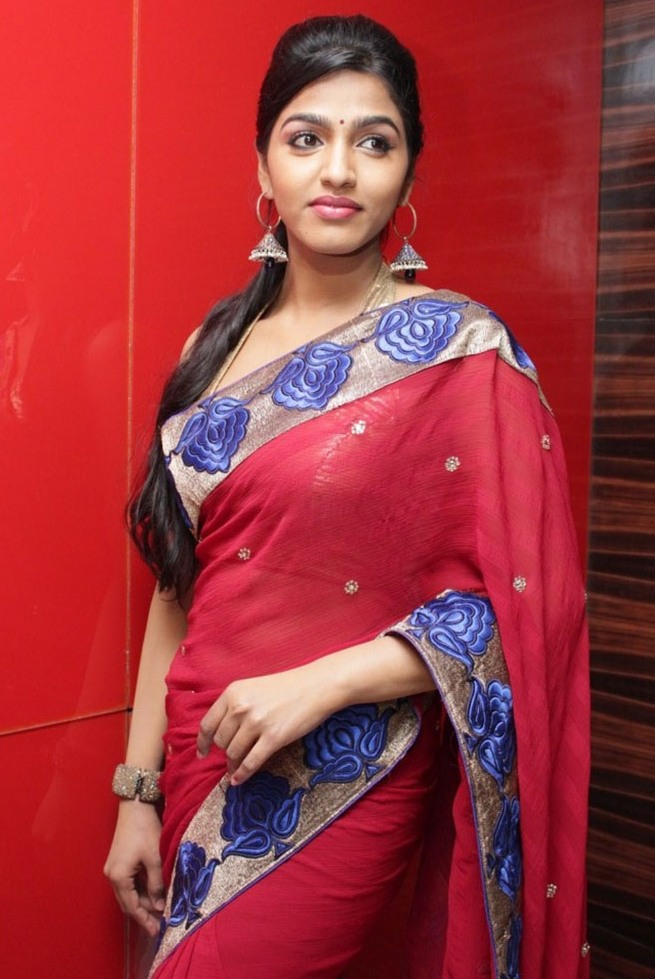 Tamil Actress Dhansika Sexy Saree Photos