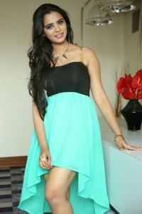 Manasa Sexy Legs Show Pictures