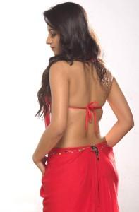Trisha Hot Spicy Photoshoot Stills in Red Dress