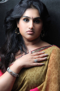 Vanitha Vijaykumar Latest Photoshoot Images in Saree