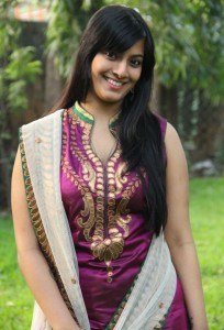 Tamil Actress Varalaxmi Sarathkumar Cute Pics in Salwar Kameez