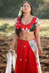 Veena Malik Navel Photos in Half Saree From Nagna Satyam Movie
