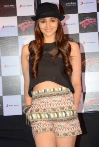 Actress Alia Bhatt Latest Hot Pics At Humpty Sharma Ki Dulhania Movie Song Launch