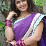 Avika Gor Cute Photos in Half Saree