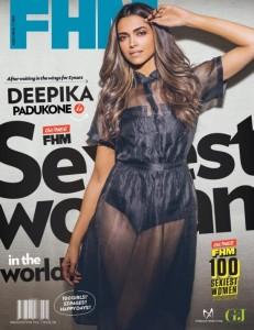 Deepika Padukone Hot Photos in FHM Magazine July 2014