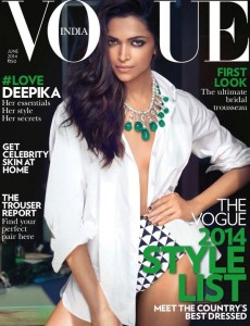 Deepika Padukone Hot Photoshoot For Vogue India Magazine June 2014