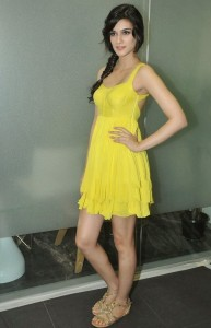 Kriti Sanon Latest Sexy Photos in Yellow Dress