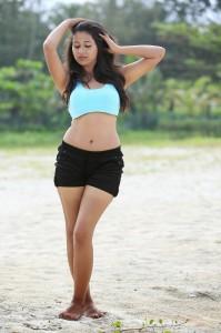 Manali Rathod Hot Navel Images Form Green Signal Telugu Movie