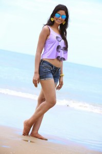 Shilpi Sharma Hot Navel and Thighs Show Photos From Green Signal Movie