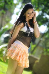 Shilpi Sharma in Mini Skirt From Green Signal Movie