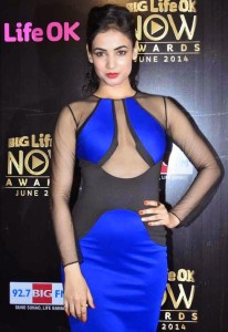 Actress Sonal Chauhan Hot Pics At Life OK Now Awards 2014